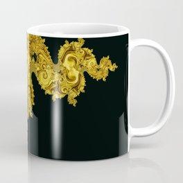golden dragon on black Coffee Mug