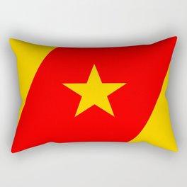 Amhara people ethnic flag Rectangular Pillow