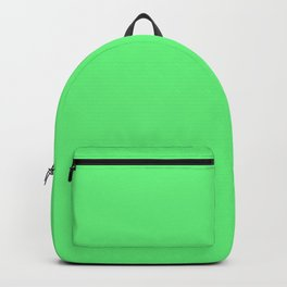 Lime Green Sorbet Ice Cream Gelato Ices Backpack