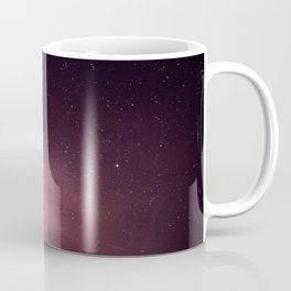 Purple Sky over Mountains Coffee Mug