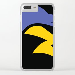 Speedy Thunder Storm Clear iPhone Case