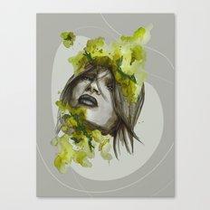 Eva by carographic, Carolyn Mielke Canvas Print