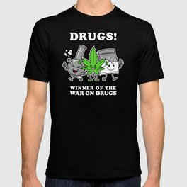 Drugs: Winner Of The War On Drugs T-shirt