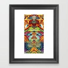 Totemic Framed Art Print