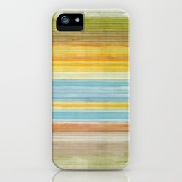 Colorbands Yellowstone Yellow iPhone Case