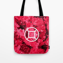 Ruby Candy Gem Tote Bag