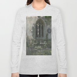 Beauty in Ruins Long Sleeve T-shirt