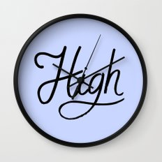 High Wall Clock