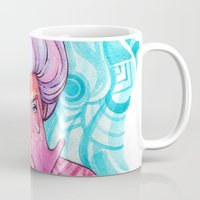 luna lovegood Mugs featuring Luna by Verismaya