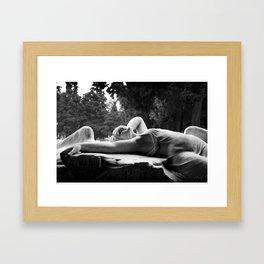 Love Will Tear Us Apart 2 - Joy Division Framed Art Print