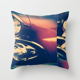1955 Ford Crown Victoria Throw Pillow
