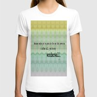 oasis T-shirts featuring Wonderwall - Oasis by Paxton Keating
