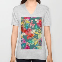 Stay home and be creative Unisex V-Neck