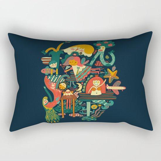 Crazy dream Rectangular Pillow