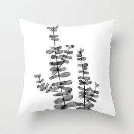 Silver Dollar Throw Pillow
