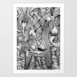 Anomalies I - Fragment Art Print