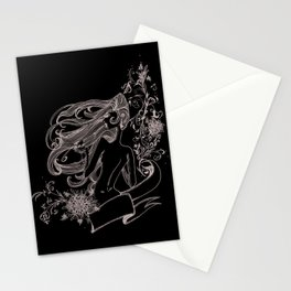 Wine Woman Stationery Cards