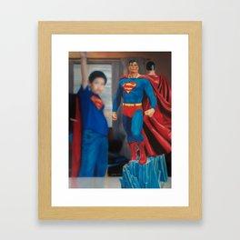 I Am SuperMan Framed Art Print