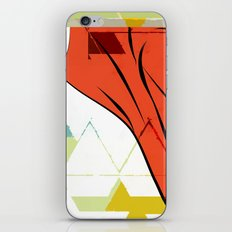 Dearg iPhone & iPod Skin