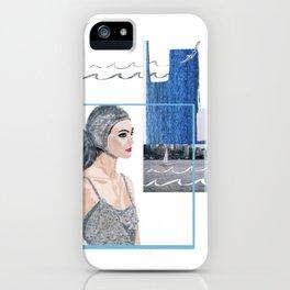 Dive In iPhone Case