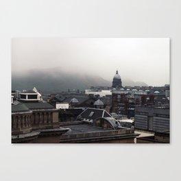 Edinburgh Skies Canvas Print