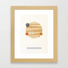 Jupiter I Framed Art Print