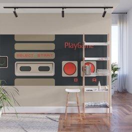 Retro Gamepad Wall Mural