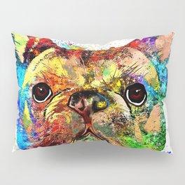 French Bulldog Grunge Pillow Sham