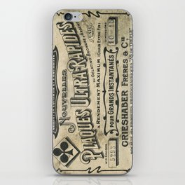 Plaques Ultra Rapides iPhone Skin