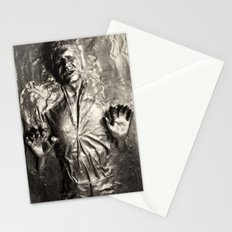 Han Solo carbonite Stationery Cards