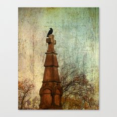 Not Just Another Perch Canvas Print