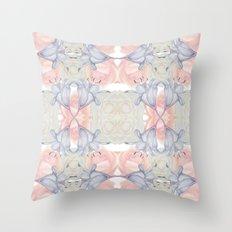 Wildflower symmetry Throw Pillow