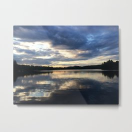 Mirror Mirror on the Lake Metal Print