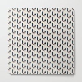 Superb Fairywren | Pattern Metal Print