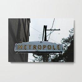 385. Metropole Light, Vancouver, Canada Metal Print