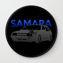Lada Samara Wall Clock