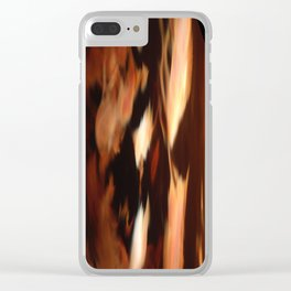 Surreal Sunset Clear iPhone Case