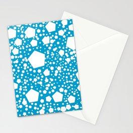 """Kalinka. """"Cerulean blue"""" color Stationery Cards"""
