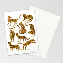 Tiger Collection – Orange Palette Stationery Cards
