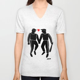 Sweethearts hooligans Unisex V-Neck