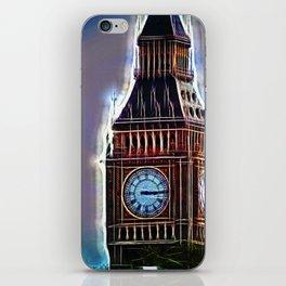 Iluminated Big Ben iPhone Skin