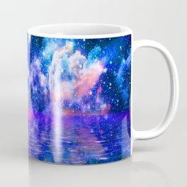 NEBULA COSMIC HORIZON OCEAN BLUE Coffee Mug