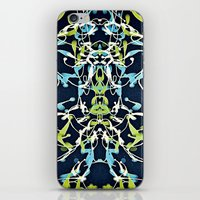 nouveau iPhone & iPod Skins featuring Nouveau by Tina Carroll