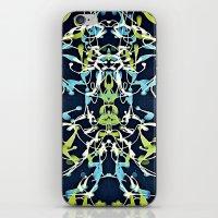 art nouveau iPhone & iPod Skins featuring Nouveau by Tina Carroll