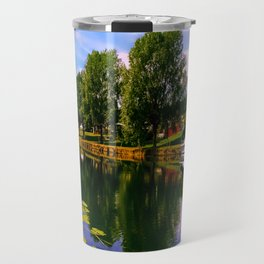 River Perspective. Travel Mug