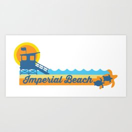 Imperial Beach. Art Print