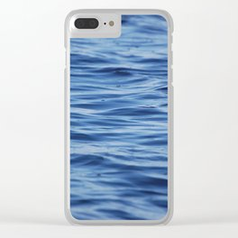 River Ripples Clear iPhone Case