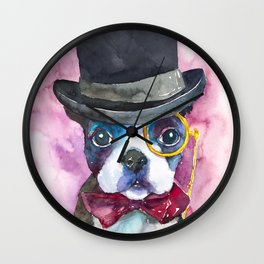 dog#25 Wall Clock