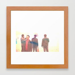 too late to: ______ Framed Art Print