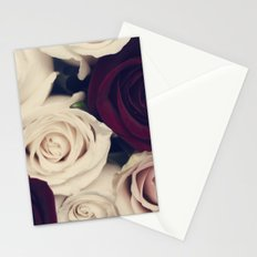 rose bouquet Stationery Cards